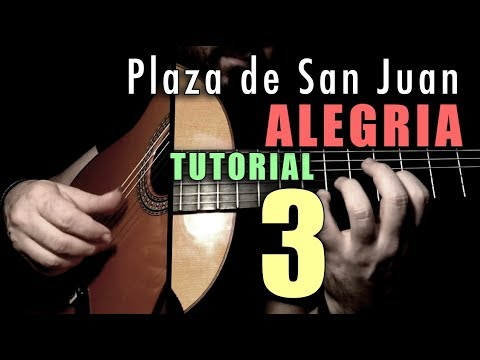 Mixed Technique Exercise - 14 -  Plaza De San Juan (Alegria) By Paco De Lucia