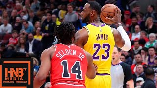 Los Angeles Lakers vs Chicago Bulls 1st Half Highlights | March 12, 2018-19 NBA Season