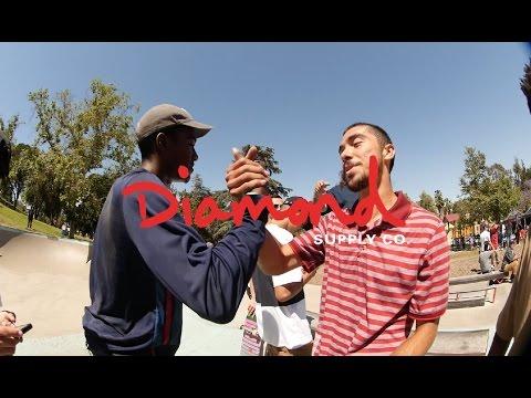 Diamond Skate Plaza Hazzard Park BBQ & Best Trick