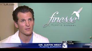 Dr. Justin West interviewed on KTLA 5 News
