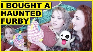 I Bought A Haunted Furby (Unboxing It - SO SCARY)