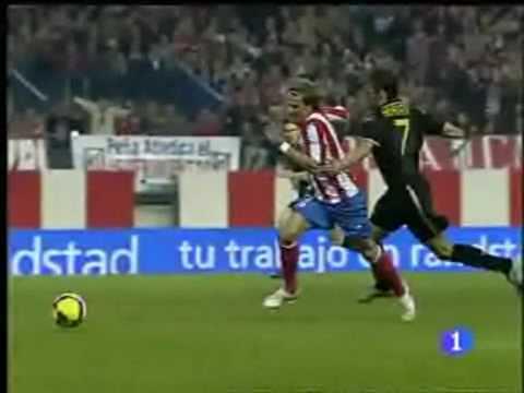 Los 32 goles de Diego Forlan en la Liga 08/09