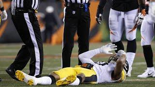 Bengals Vs Steelers Ryan Shazier Gets Injured | NFL