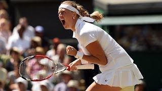 Highlights Day 10: Kvitova cruises into the Final - Wimbledon 2014
