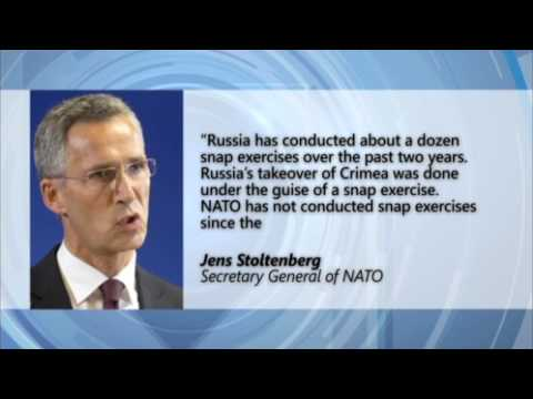 Russian Wargames: NATO chief says sudden, unpredictable military maneuvers contribute to instability