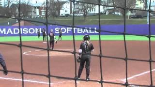2015 JMU Softball - Charleston Highlights - March 28, 2015