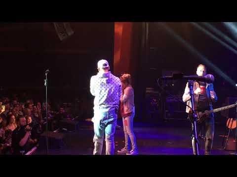 Kane Brown brings fans on stage