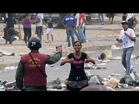 They are supposed to protect us. Venezuela Crisis.
