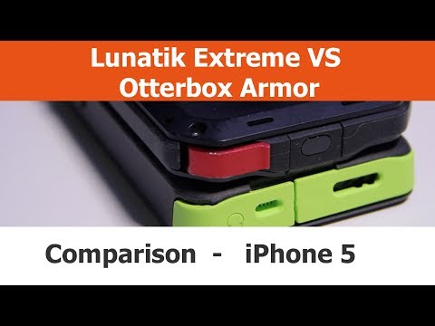 Lunatik Taktik Extreme vs. Otterbox Armor iPhone 5 Cases