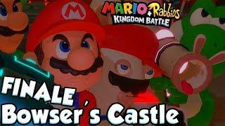 ABM: Mario+Rabbids Kingdom Battle!! MEGADRAGONBOWSER!! FINALE!! Bowser Castle!! HD