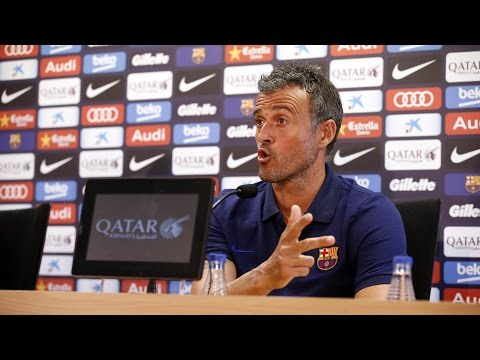 "Luis Enrique: ""Our objectives are of the highest degree"""