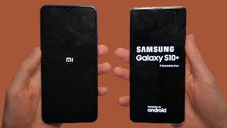 Xiaomi Mi 9 vs Samsung Galaxy S10+ Speed Test, Cameras & Speakers!