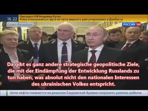 Putin redet Klartext - NATO bereits in der Ukraine 27.1.15