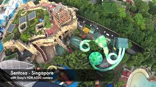 Inside Singapore Sentosa with Sony HDR AS50