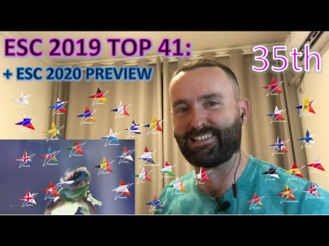 Eurovision 2019 Review (+ESC 2020 Preview): Top 41 - 35th