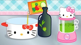 Permainan Anak Masak Masakan  - Game lucu anak kecil - Hello Kitty Lunch Box