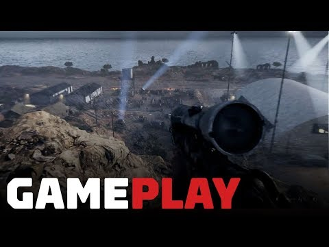 Battlefield 5 Campaign: 9 Minutes of Base Infiltration Gameplay ('Under No Flag' Mission)