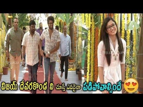 Vijaydevarakonda Movie Opening Video | #Vijay Devarakonda | #Rashmika | #Sukumar #Koratalashiva