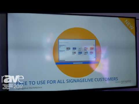 ISE 2017: Signagelive Showcases New Addition to Cloud Based Digital Signage Software, Marketplace