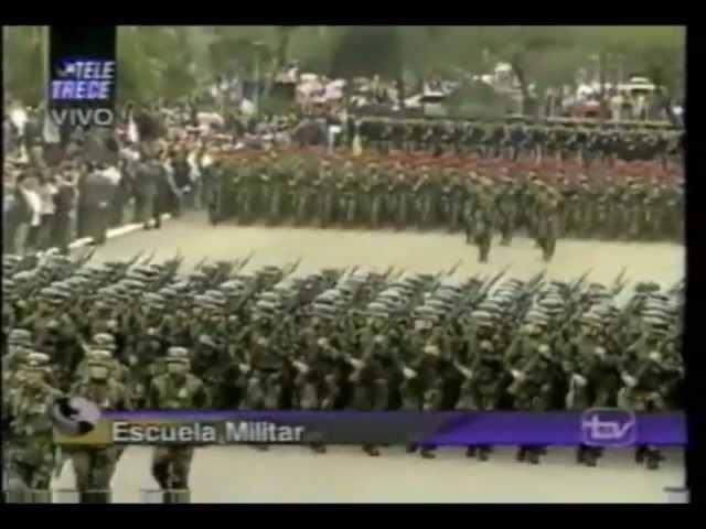 Despedida de General Pinochet Como Comandante en Jefe del Ejercito (2)