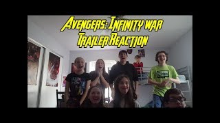 Avengers: Infinity War Trailer Reaction