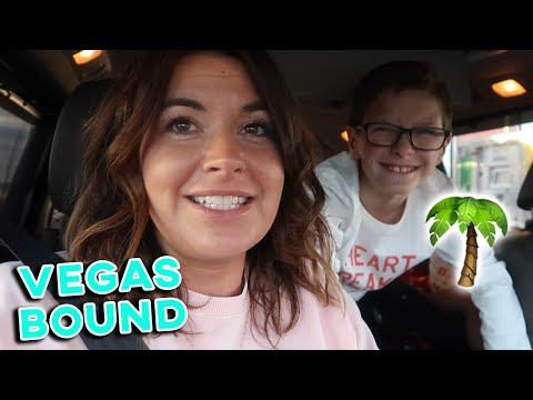 FAMILY ROAD TRIP TO VEGAS | LOOKING FOR AN OASIS IN THE DESERT | VEGAS BOUND W/ 4 KIDS IN A CAR 6HRS