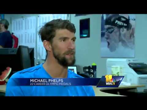 Michael Phelps swims his final North Baltimore Aquatic Club race