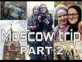 TRIP VLOG: Moscow, part 2 (Arbat street + VDNH) || Москва, часть 2 (Арбат и ВДНХ)