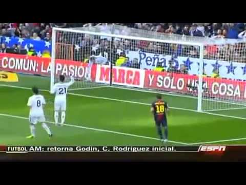 Real Madrid vs Barcelona 2 - 1 Resumen y Goles Liga BBVA 02 de Marzo 2013