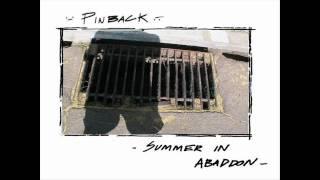 Watch Pinback AFK video