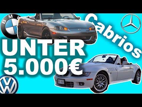 Die besten Cabrios unter 5000€!