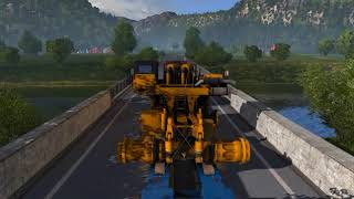 Euro Truck Simulator 2 | 60fps special transport in norway ( promode 2.27 )