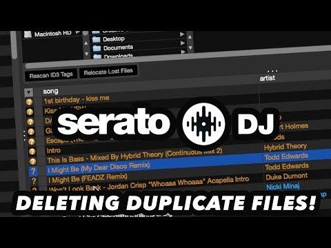 Serato DJ Tips & Tricks - How To Delete Duplicate Files!