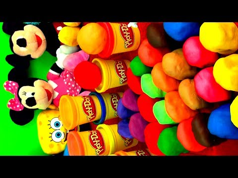 30 Surprise EGGS Playdough Angry Birds Peppa Pig Hello Kitty Toy Story Disney Pixar Cars Kinder toys