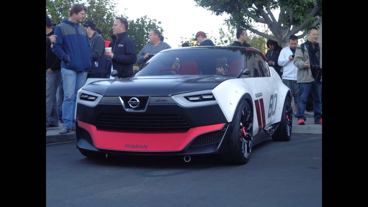 Nissan Gtr Concept >> Nissan IDx and other Datsun/Nissan at Cars and Coffee - Skyline,510 Bluebird, GTR - YouTube
