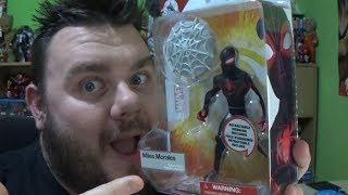 Miles Morales Marvel Toybox Spider-Man Disney Store Exclusive Action Figure Review