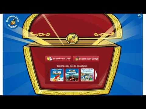 Tutorial - Club Penguin - Código de Livros (Livro azul) + Códigos itens de gra