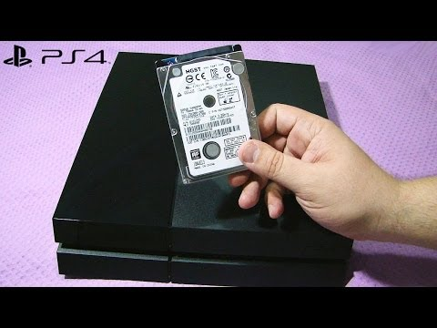 Como trocar o HD do PS4 e reinstalar o sistema do Playstation 4 (upgrade PS4 hard drive)