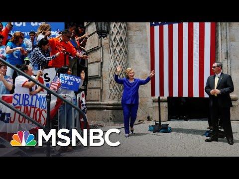 Hillary Clinton, Democrats Ramp Up For The DNC | MSNBC