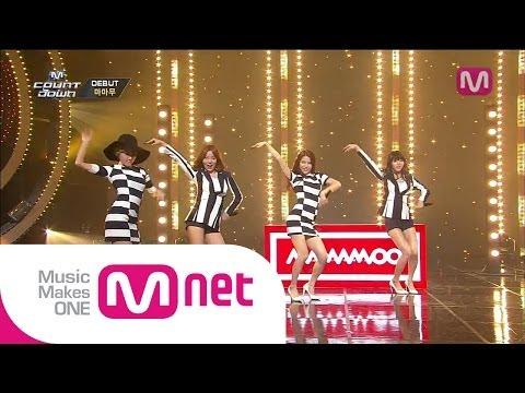 Mnet [엠카운트다운] Ep.381 : 마마무(MAMAMOO) - Mr.애매모호(Mr. Ambiguous) @M COUNTDOWN_140619