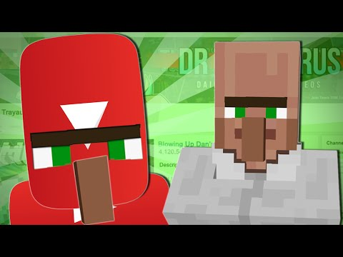 TRAYAURUS TAKES OVER YOUTUBE | Minecraft