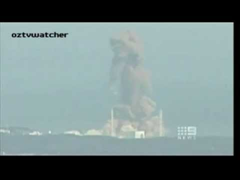 Reactor 3 Nuclear Explosion At Fukushima Daiichi Nuclear Power Plant video
