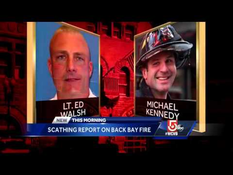 Scathing report released on Back Bay fire