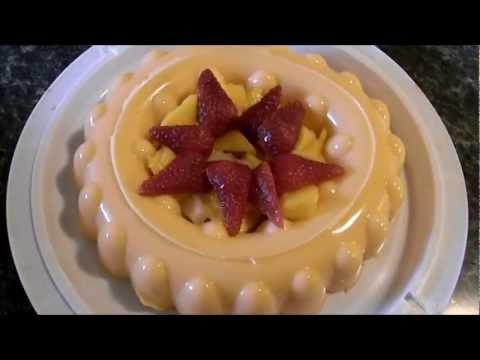 Gelatina de naranja y leche condensada youtube - Gelatina leche condensada ...