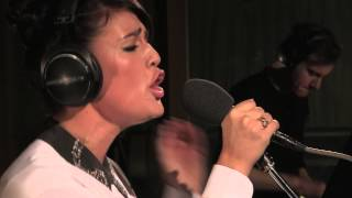 Jessie Ware performs Taking in Water in the Live Lounge.