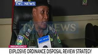 Explosive Ordinance Disposal reviews strategy in Lagos