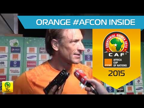 Post-match Interview: Côte D'Ivoire vs Ghana - Orange Africa Cup of Nations, EQUATORIAL GUINEA 2015