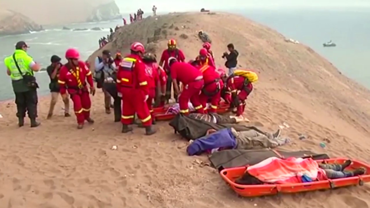 Death toll rises to 48 from bus crash near Peruvian capital