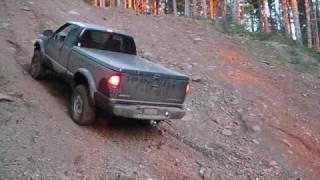 Chevy S10 hill climb
