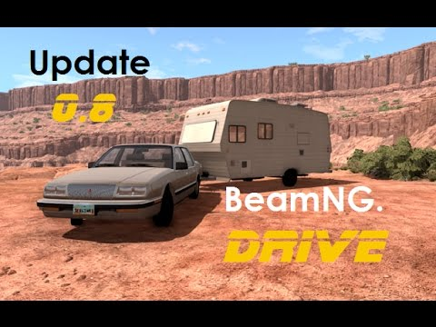 BeamNG. Drive - 0.8 - Bruckell LeGran | Travel Trailer | Preview | Crash Testing